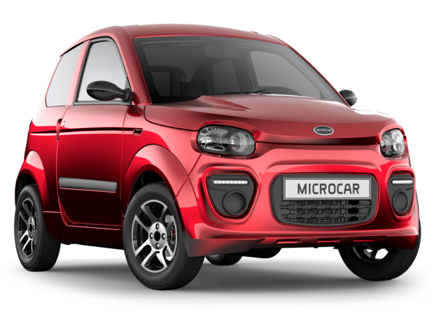 PRESENTATION MICROCAR M.GO PLUS 3-4 AVANT